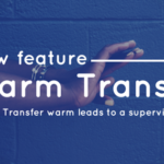 Warm transfer leads on CallHub