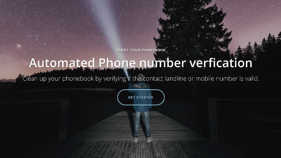 Automated phone number verification