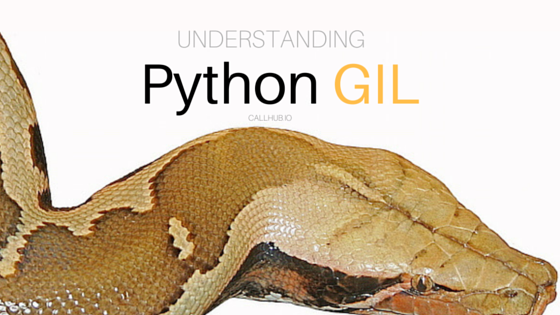 Understanding python multi threading GIL