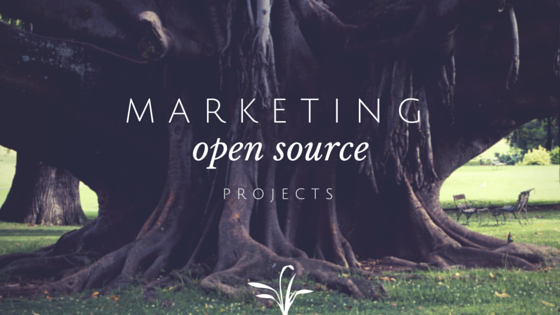 Marketing open source projects