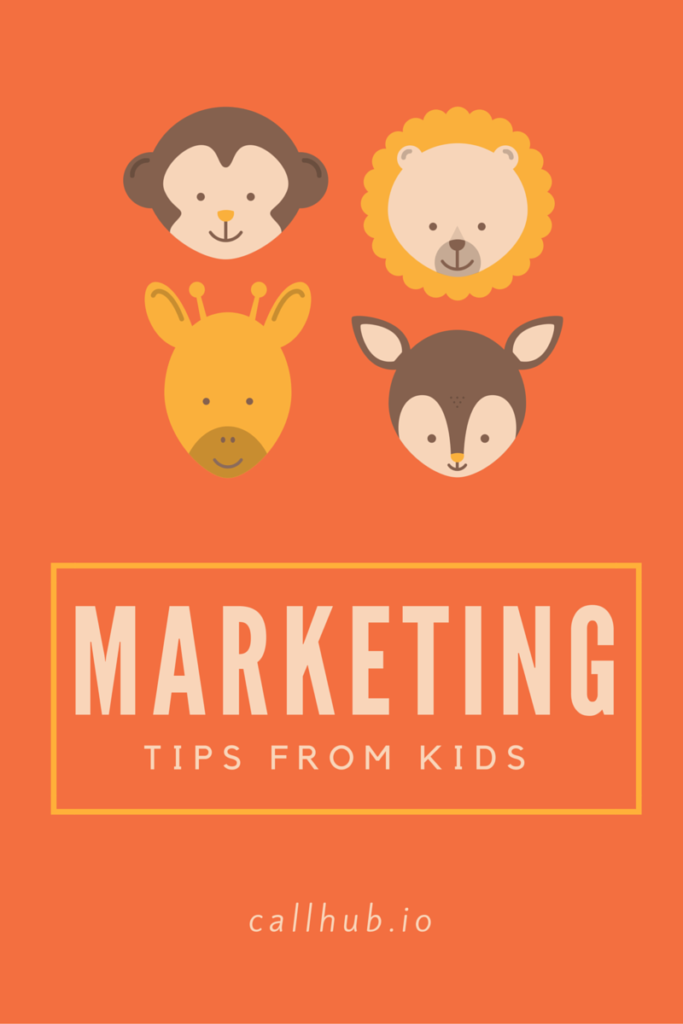 5 Marketing tips learnt from kids