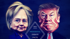 facts about the 3rd presidential debate