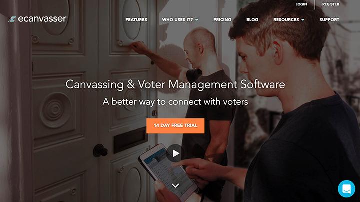 ecanvasser-modern-political-campaign-tools