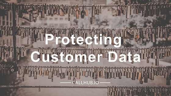 Protecting customer data