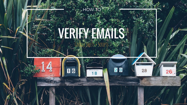 How to automatically verify emails