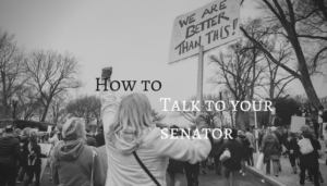 how to talk to your senator : Patch through calling
