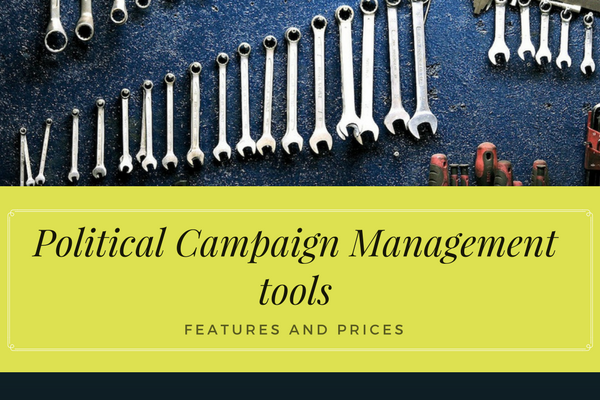 top political campaign management tools