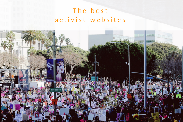 Best activist websites