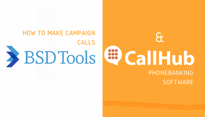 How to make campaign calls with BSD tools