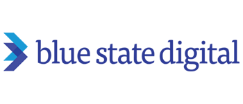 blue state digital logo