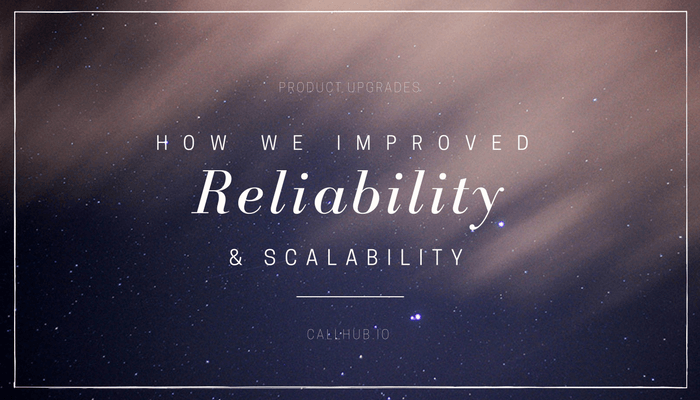how callhub improved reliability