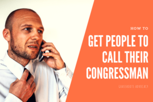 how to get people to call their representative