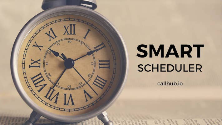 smart scheduler - find the best times to call