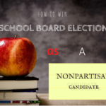 nonpartisan campaign for school board election