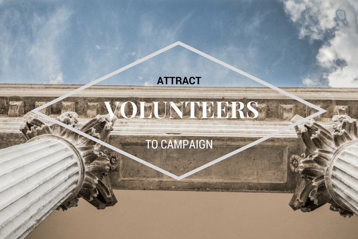 attract volunteers to campaign