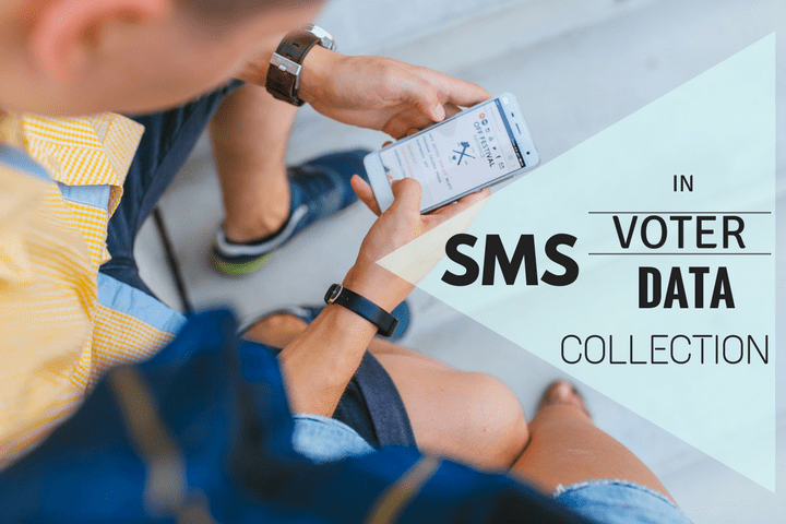 sms as the best way to collect voter data