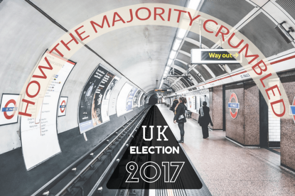 How majority crumbled in UK election