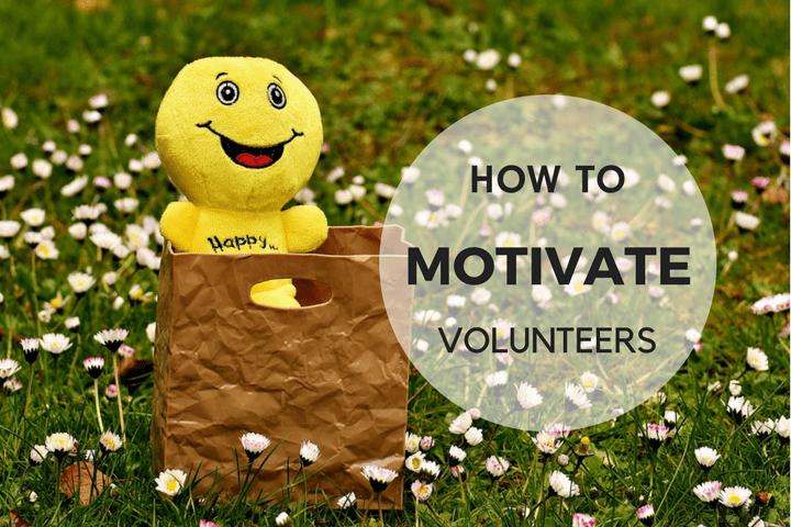 keep volunteers motivated