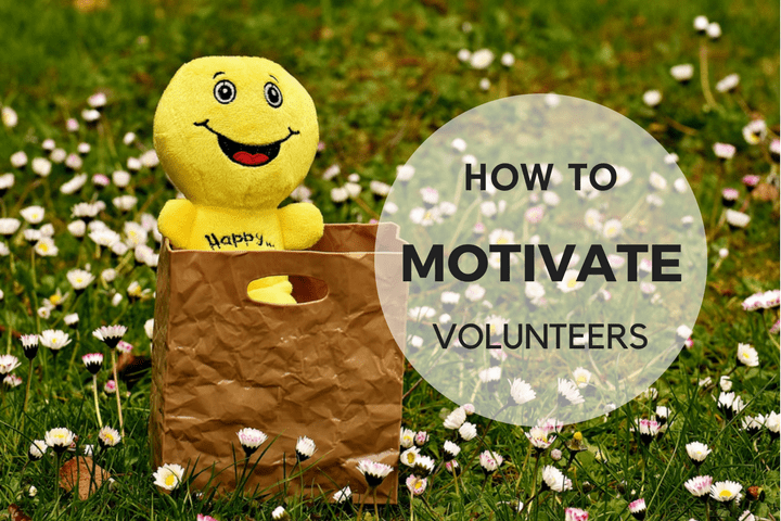 keep volunteers motivated