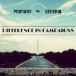 How campaigns change strategy between primary and general elections