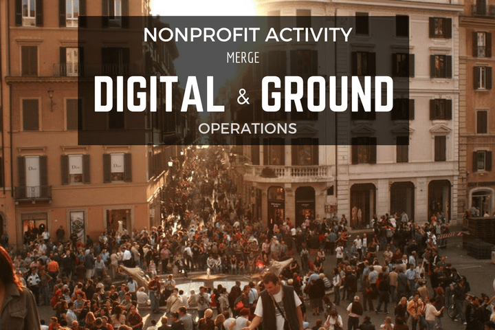 unite digital and ground nonprofit activity