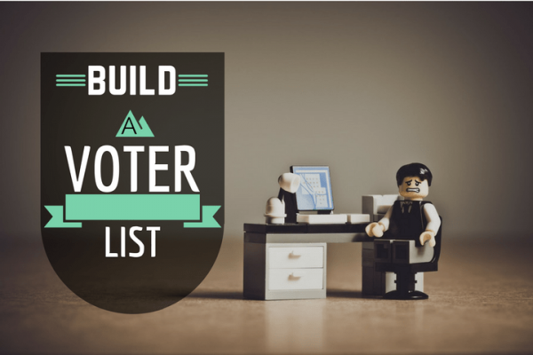 building voter contact list