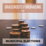 municipal election fundraising