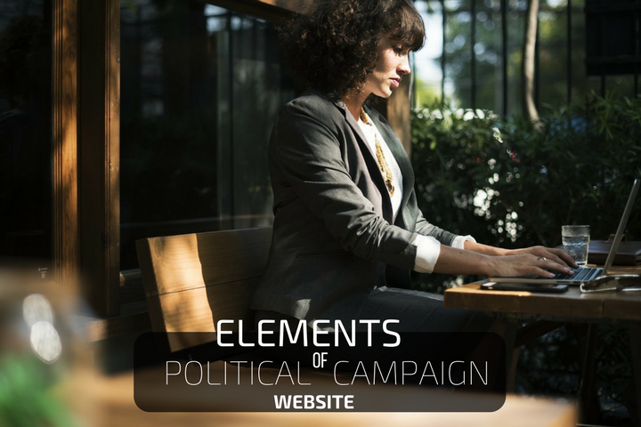 Political website important elements