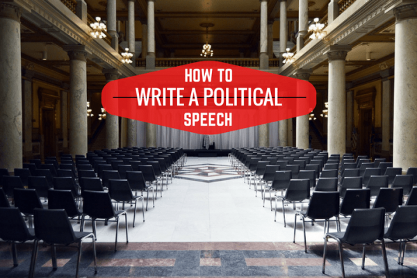 write a campaign speech