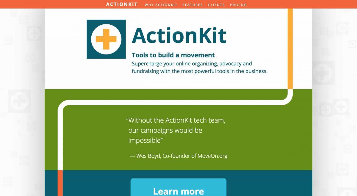 advocacy software actionkit