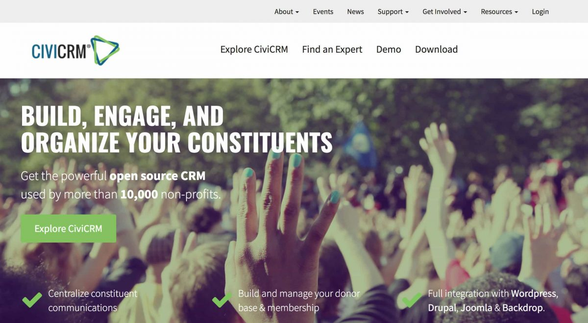 advocacy software civicrm