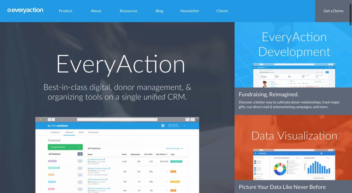 advocacy software everyaction