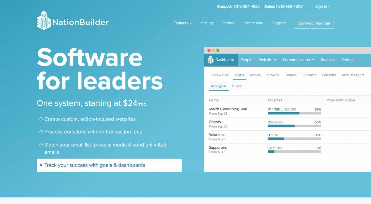 advocacy software nationbuilder