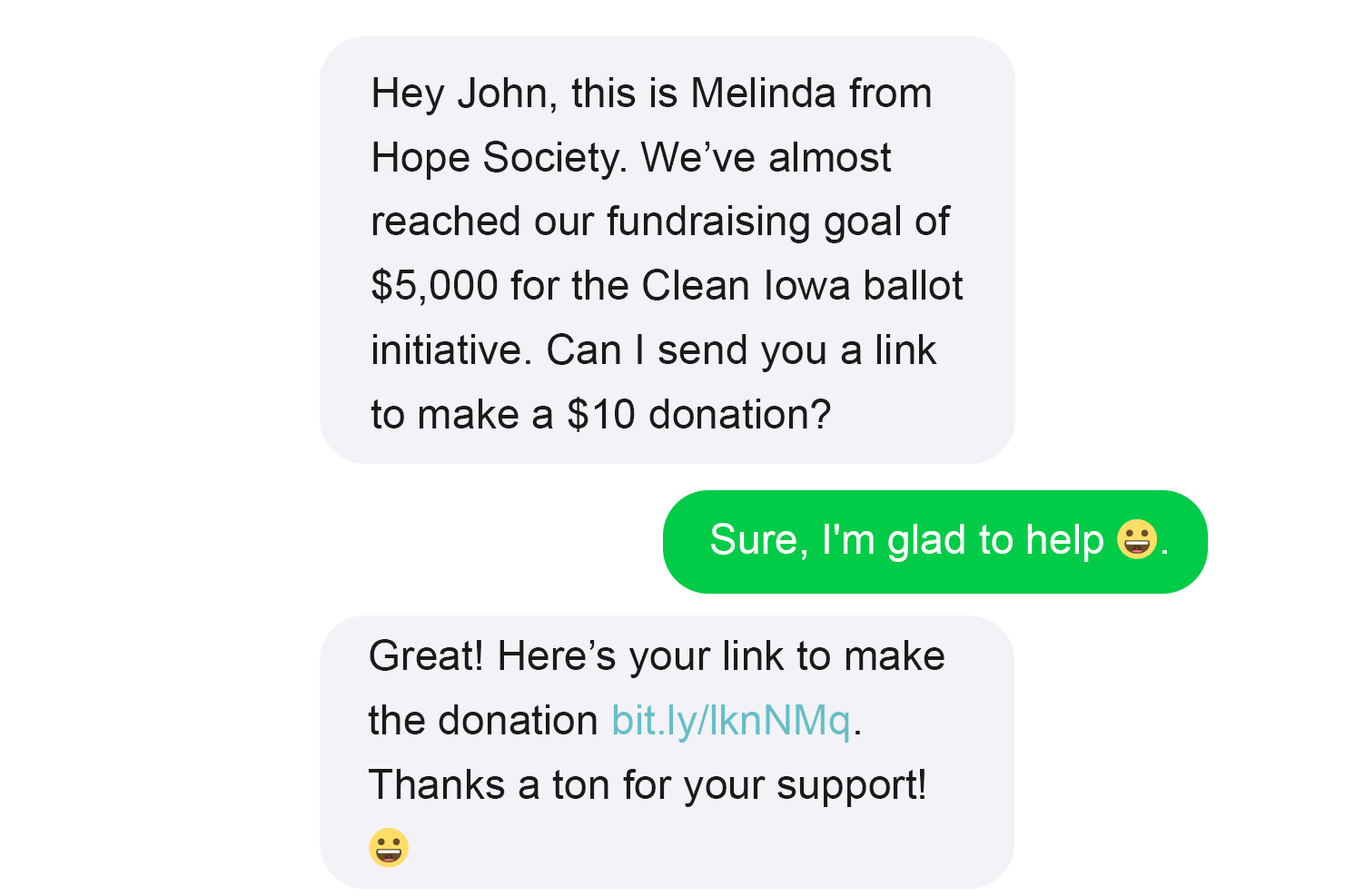 fundraising guide to peer to peer texting collective texting by