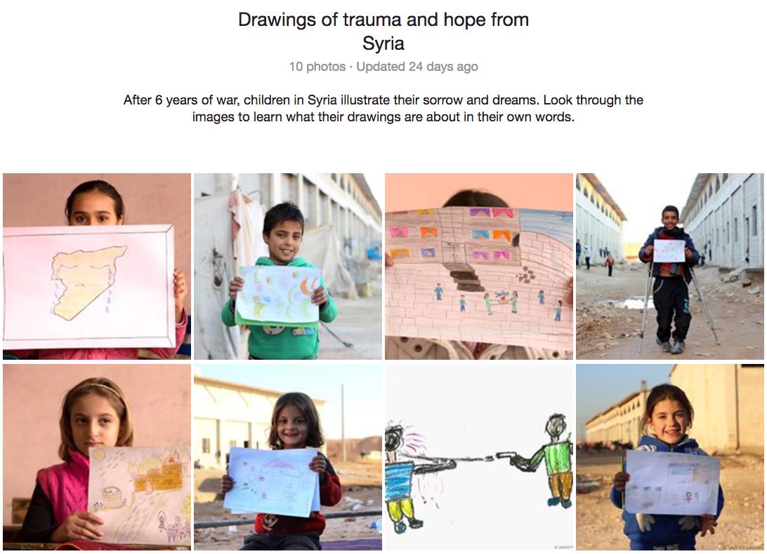 visual storytelling UNICEF