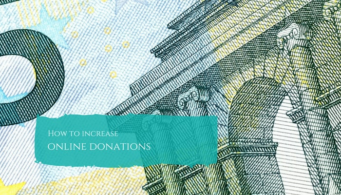 how to increase your online donations