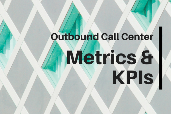 outbound call center metrics