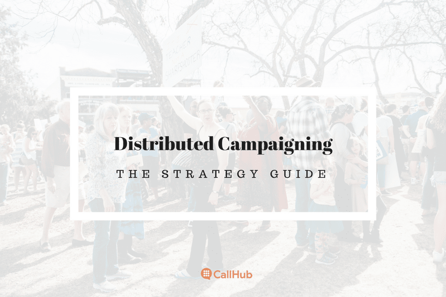 distributed campaigning the strategy guide