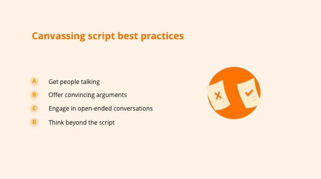 canvassing-script-best-practices