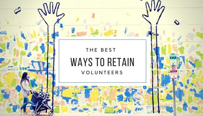 how to retain volunteers