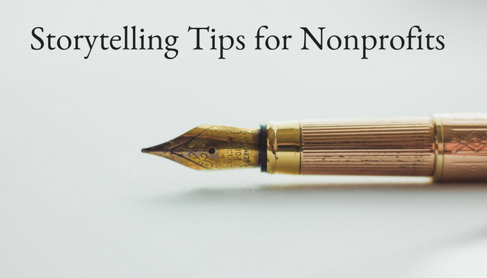 Nonprofit Storytelling tips