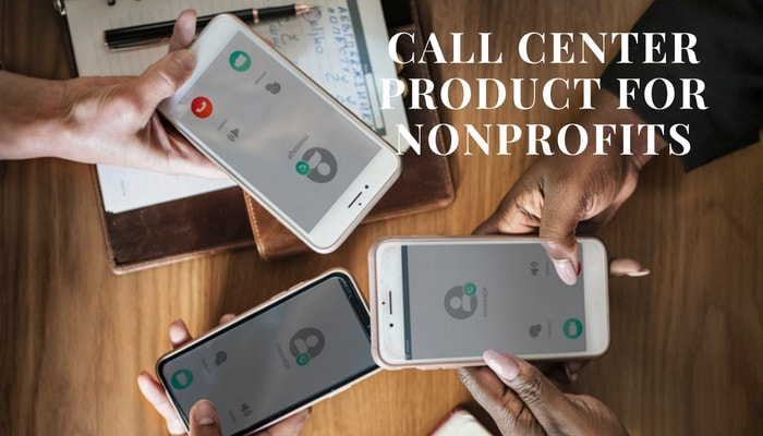 How can nonprofits benefit from using a call center product