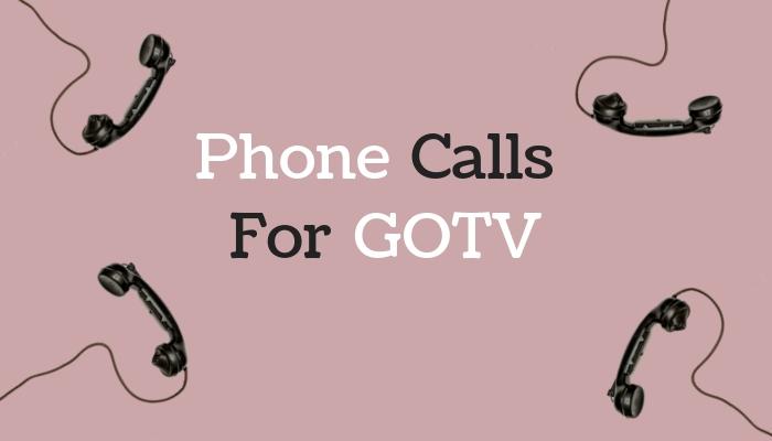 Phone Calls For GOTV