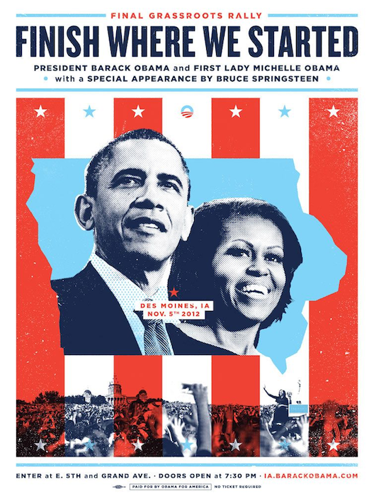 Obama fundraising event campaign