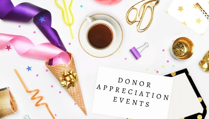 donor appreciation event