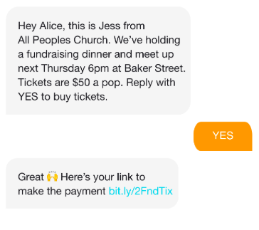 Church-texting-service-donation