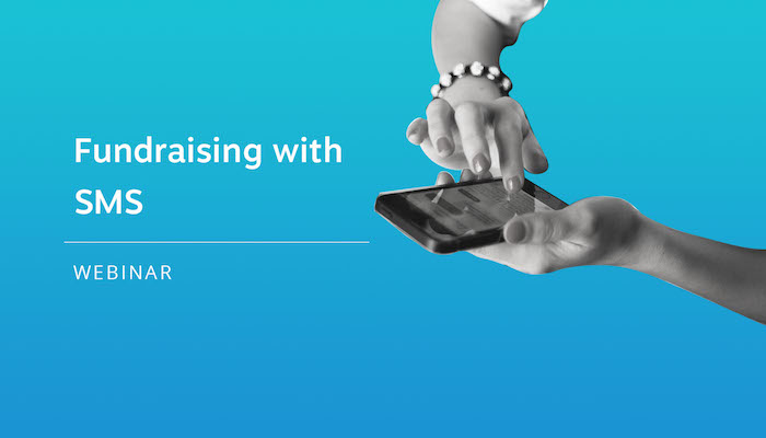 add sms to email fundraising feature