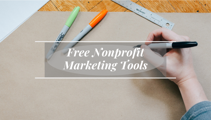 Free Nonprofit Marketing Tools Banner
