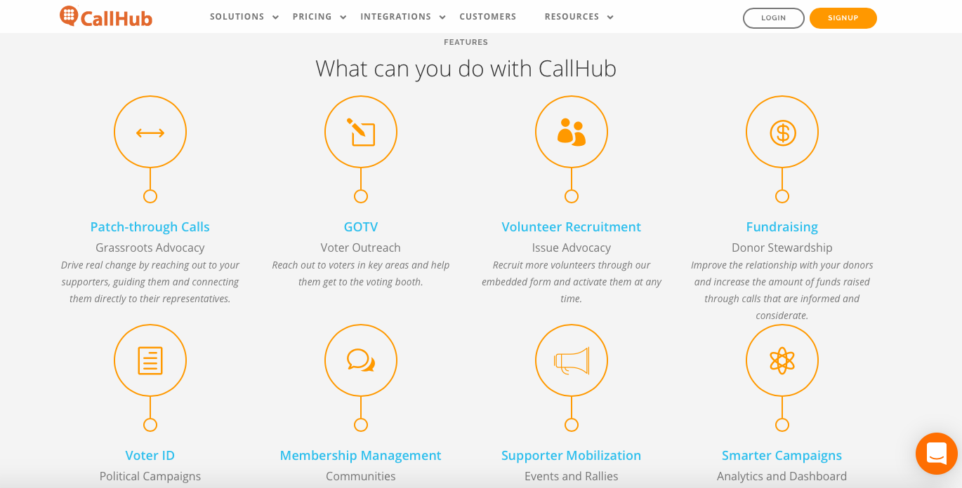 nonprofit marketing tools - CallHub
