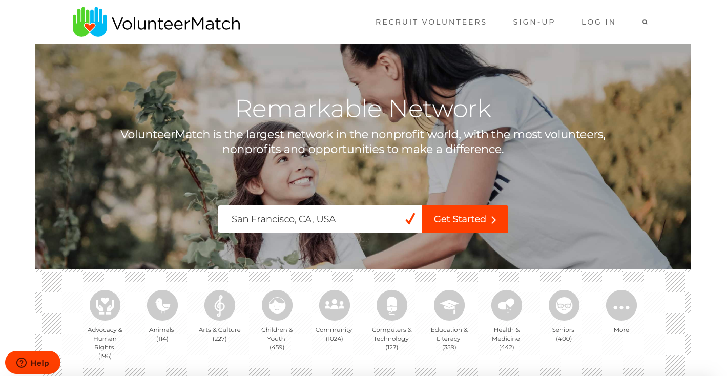 nonprofit marketing tools - VolunteerMatch